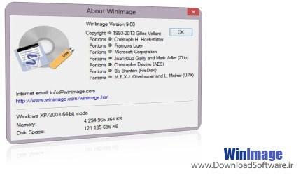 WinImage x86/x64 + Portable - گرفتن ایمیج از دی وی دی