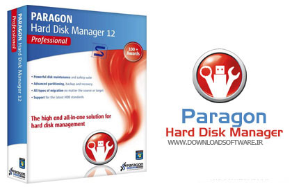 paragon partition manager bootable iso دانلود