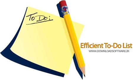 دانلود نرم افزار Efficient To-Do List - ایجاد لیست انجام کار