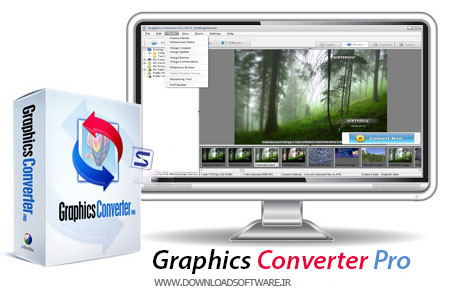دانلود نرم افزار Graphics Converter برنامه مبدل عکس