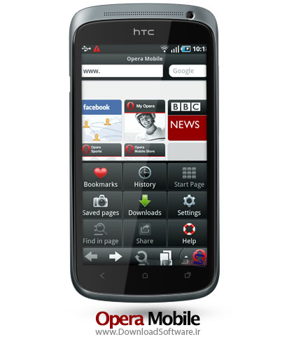 opera mobile web browser android