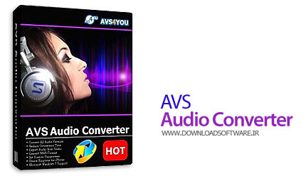 دانلود نرم افزار AVS Audio Converter - برنامه مبدل فایلهای صوتی