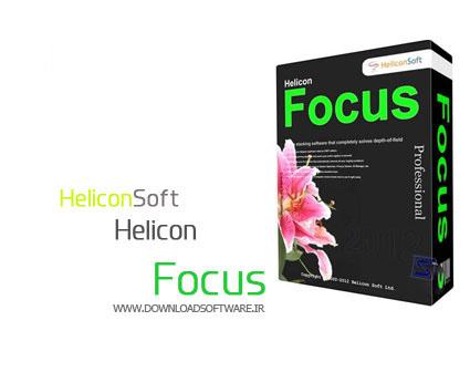 دانلود نرم افزار HeliconSoft Helicon Focus Pro - برنامه اصلاح Focus عکس بعد از عکاسی