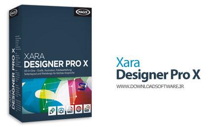دانلود نرم افزار Xara Designer Pro X - نرم افزار طراحی گرافیکی