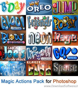 Magic Actions Pack for Photoshop