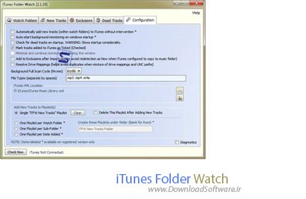 iTunes-Folder-Watch