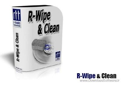 دانلود نرم افزار R-Wipe & Clean - برنامه پاکسازی ویندوز