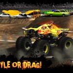 دانلود بازی مسابقه ماشین های غول پیکر - دانلود Monster Truck Destruction برای اندروید