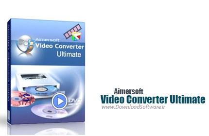 دانلود نرم افزار Aimersoft Video Converter Ultimate - دانلود مبدل فایل ویدئویی