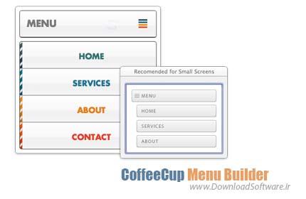 CoffeeCup Menu Builder