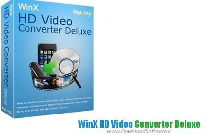 دانلود نرم افزار WinX HD Video Converter Deluxe برنامه مبدل ویدئو HD