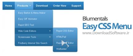 Blumentals Easy CSS Menu