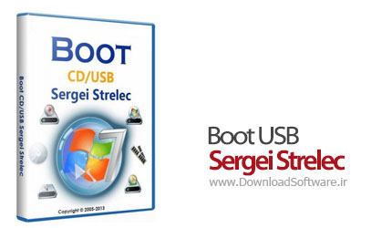 Boot USB Sergei Strelec