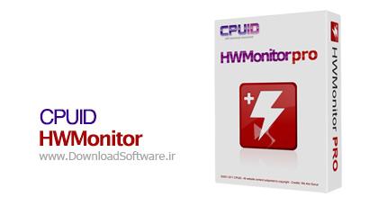 دانلود نرم افزار CPUID HWMonitor Pro نمایش عملکرد CPU