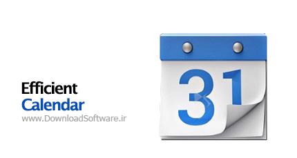 دانلود نرم افزار Efficient Calendar Pro - برنامه تقویم حرفه ای