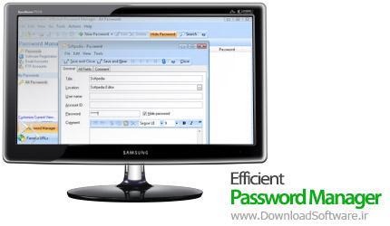 دانلود نرم افزار Efficient Password Manager - مدیریت و ذخیره رمز های عبور