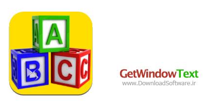 دانلود نرم افزار GetWindowText برنامه کپی متن پنجره های ويندوز