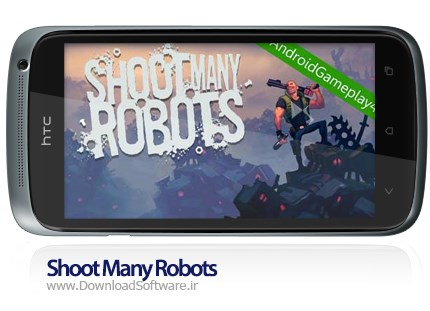 Shoot Many Robots android game
