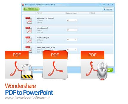 Wondershare PDF to PowerPoint
