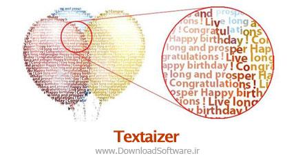 دانلود نرم افزار Textaizer Pro برنامه ساخت تصاویر متنی از عکس