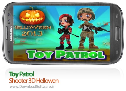 Toy Patrol Shooter 3D Hellowen android game