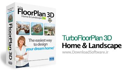 دانلود IMSI TurboFloorPlan 3D Home & Landscape طراحی 3 بعدی دکوراسیون منازل