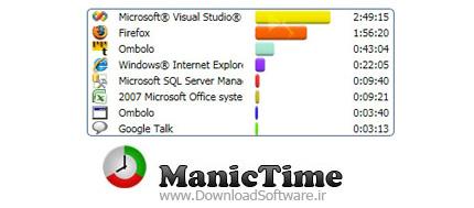 دانلود نرم افزار ManicTime Pro - مدیریت زمان در استفاده از کامپیوتر و ثبت وقایع