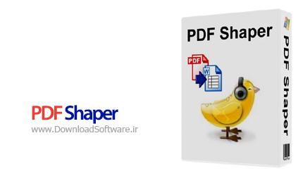 دانلود نرم افزار PDF Shaper - تبدیل PDF به Word