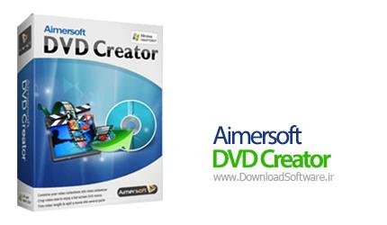 دانلود برنامه Aimersoft DVD Creator + DVD Menu Templates - نرم افزار ساخت فیلم های دی وی دی