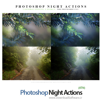 Photoshop-Night-Actions