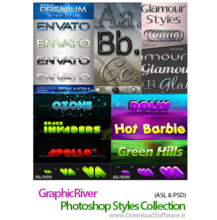 GraphicRiver-Photoshop-Styles-Collection
