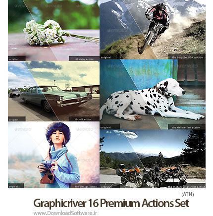 Graphicriver-16-Premium-Actions-Set