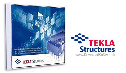 دانلود نرم افزار Tekla Structures - طراحی سازه 3 بعدی