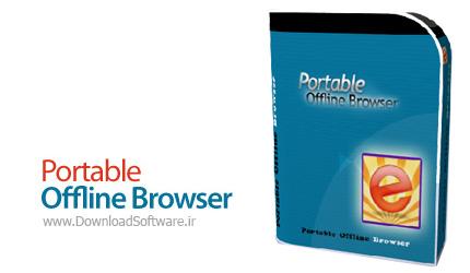 دانلود برنامه Portable Offline Browser - دانلود کامل وب سایت و مرور آفلاین آن