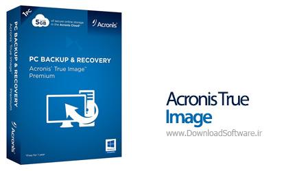 دانلود نرم افزار Acronis True Image بهترین برنامه تهیه بکاپ