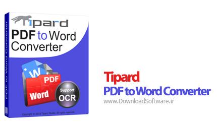 دانلود Tipard PDF to Word Converter – تبدیل PDF به Word