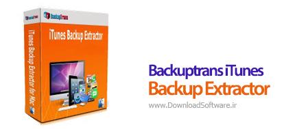 Backuptrans-iTunes-Backup-Extractor