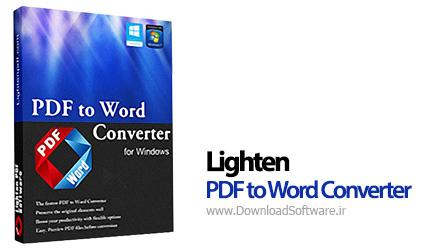 Lighten-PDF-to-Word-Converter