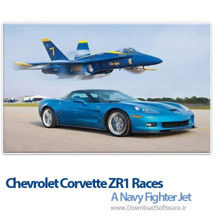 Chevrolet-Corvette-ZR1-Races-A-Navy-Fighter-Jet