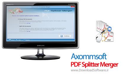 Axommsoft-PDF-Splitter-Merger