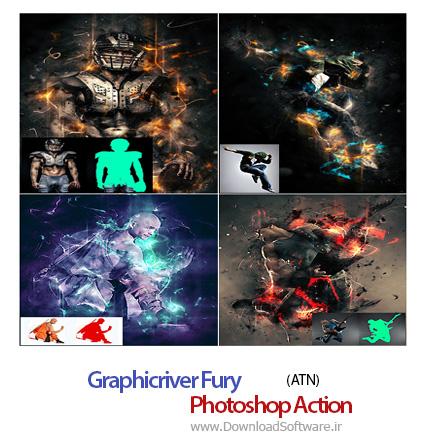 Graphicriver-Fury-Photoshop-Action