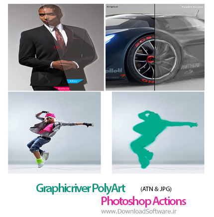 Graphicriver-PolyArt-Photoshop-Action