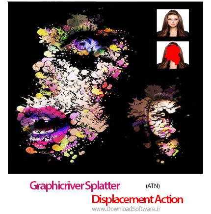Graphicriver-Splatter-Displacement-Action