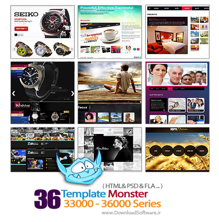 Template-Monster-33000-36000-Series
