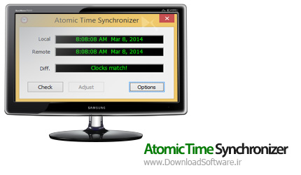 Atomic-Time-Synchronizer