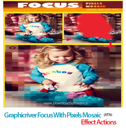 Graphicriver-Focus-With-Pixels-Mosaic-Effect-Actions