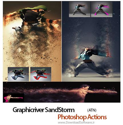 Graphicriver-SandStorm-Photoshop-Action