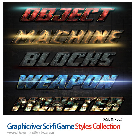 Graphicriver-Sci-fi-Game-Styles-Collection