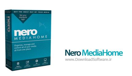 دانلود نرم افزار Nero MediaHome - نرم افزار قدرتمند رایت