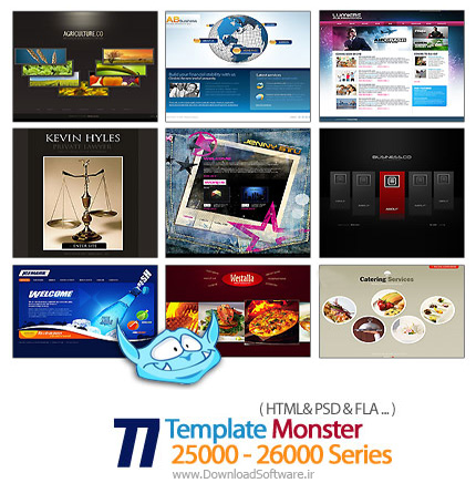 Template-Monster-25000-26000-Series